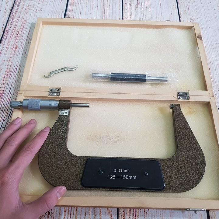 Thước panme đo ngoài 125 - 150mm