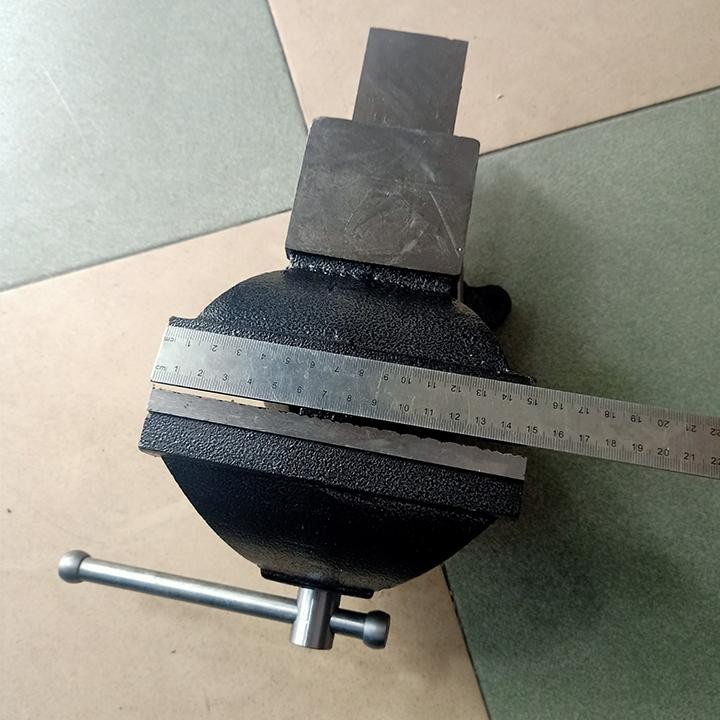 Ê tô đặt bàn asaky độ mở 150mm