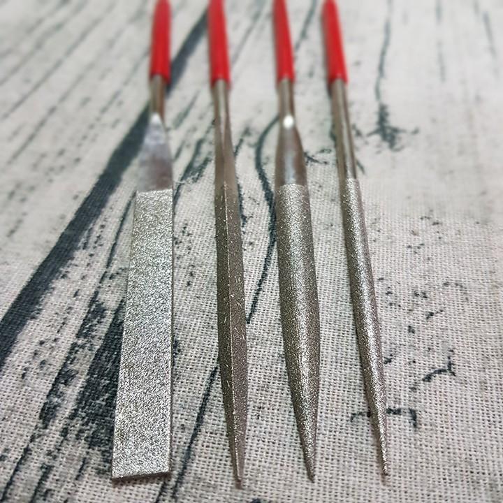 Dũa mài hợp kim loại tốt dài 180mm