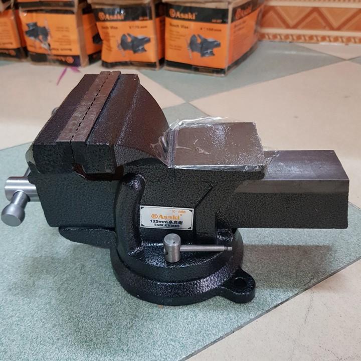 Ê tô đặt bàn Asaky độ mở 125mm