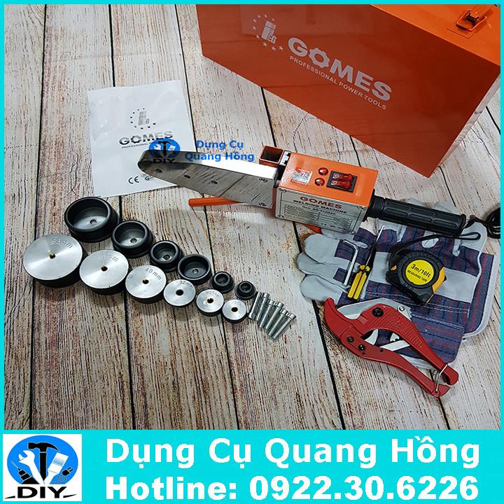 Máy hàn ống nhiệt Gomes 20 - 63mm GB-4150AC