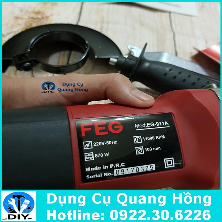 Máy mài góc cầm tay FEG EG-911A