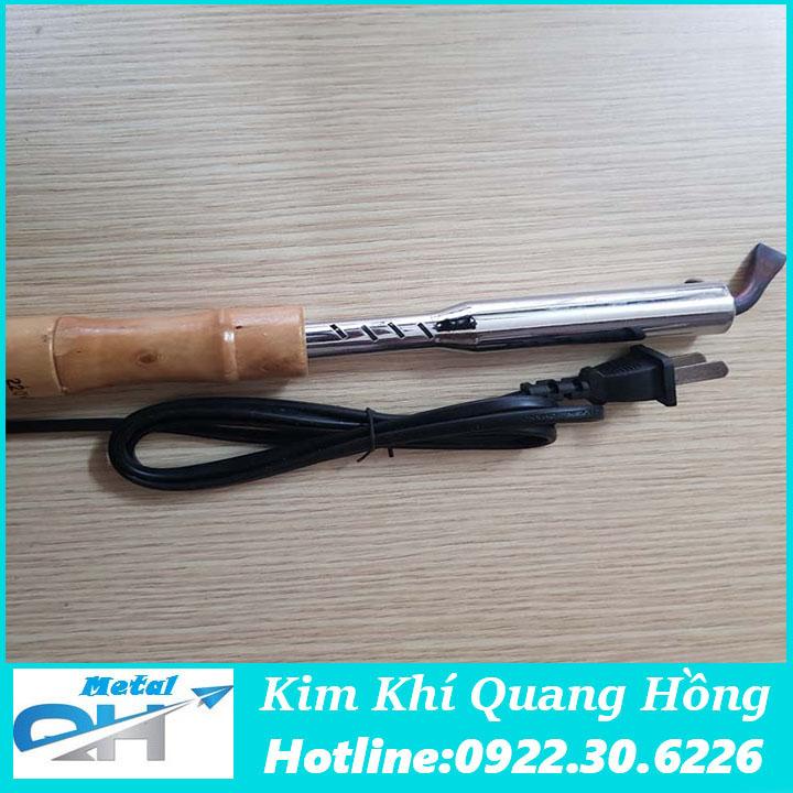 Mỏ hàn thiếc, chì cán gỗ 220V - 750w