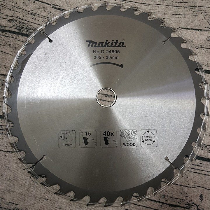 Lưỡi cắt gỗ makita 305mm x 30mm - 40 răng cưa