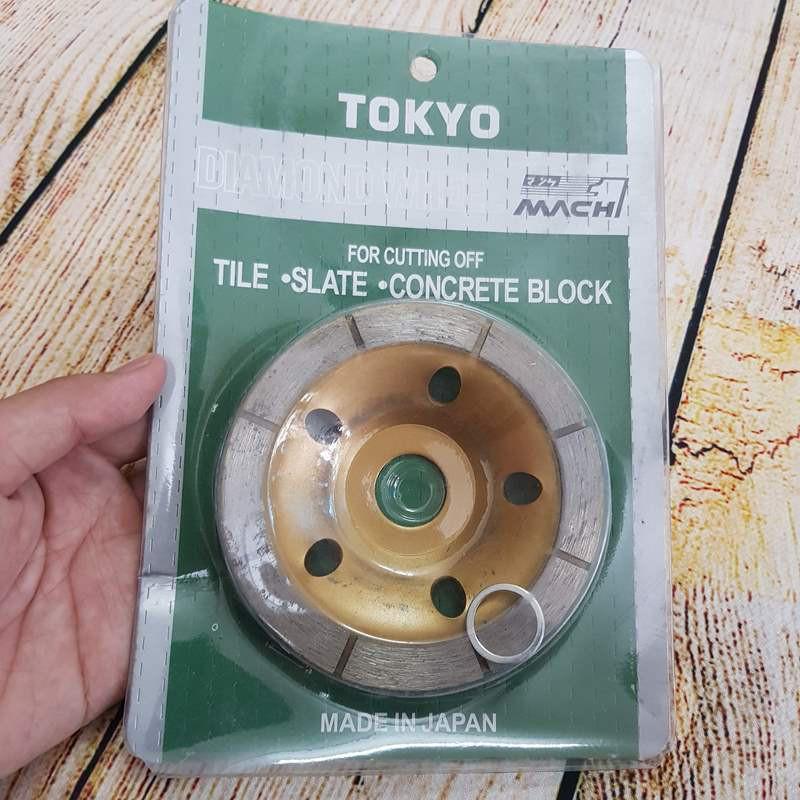 Đĩa mài đánh bóng bê tông Tokyo 100mm
