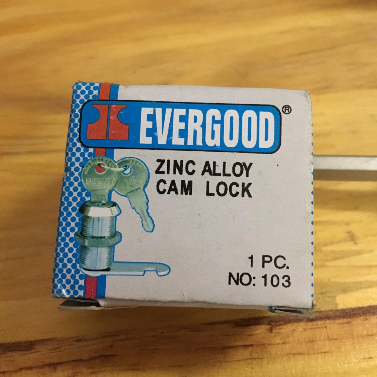 Khóa tủ Evergood trục dài