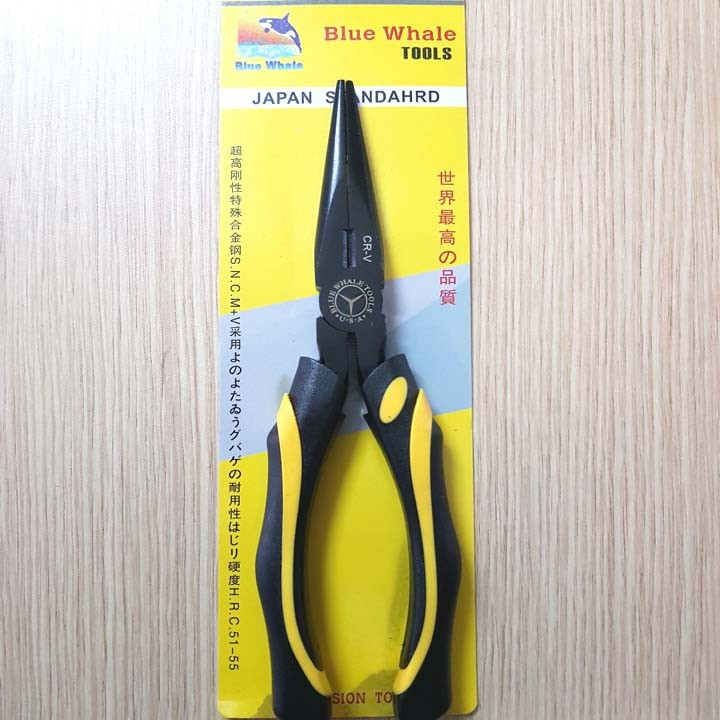 Kìm mỏ nhọn Blue Whale Tools - 200mm