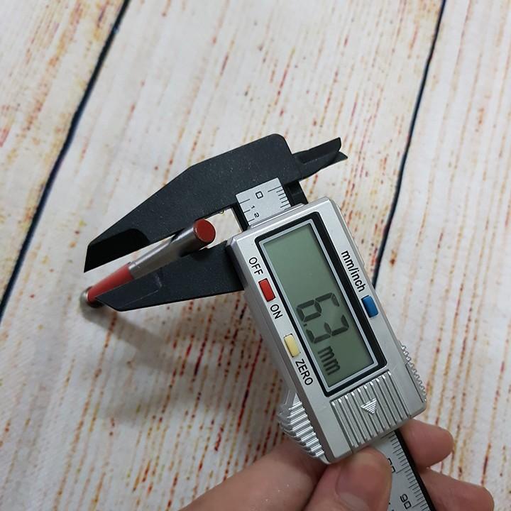 Mũi phay gỗ thẳng đầu bi 8mm trục 6.35mm