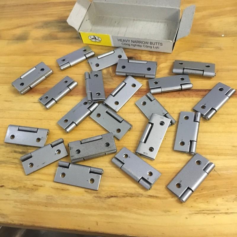 Hộp bản lề lá 38x1,5mm 24 cái