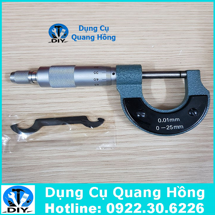 Thước Panme đo ngoài 0 - 25mm