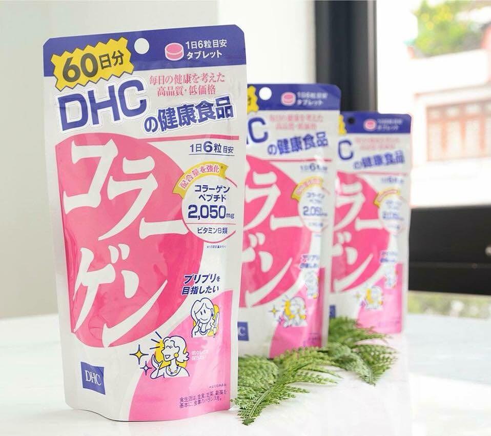 Thực phẩm chức năng collagen DHC