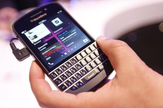 Hiệu năng blackberry q10