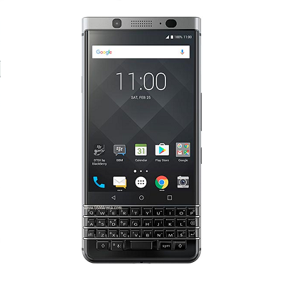 BlackBerry KEYone Silver Sprint Used/Likenew
