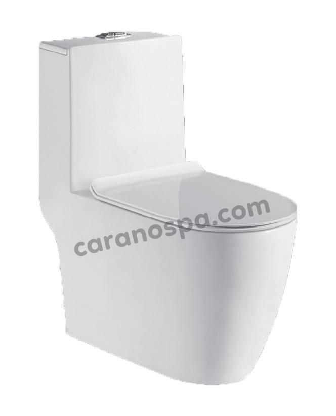 BỒN CẦU CARANO 1 KHỐI K71T1U (Toilet model: K71T1U)