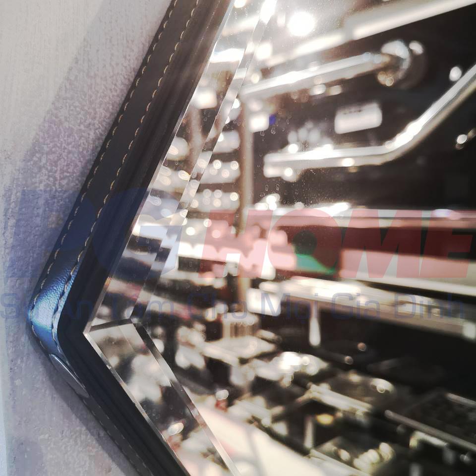 Gương lục giác phối da phi 60 - MODEL 20013