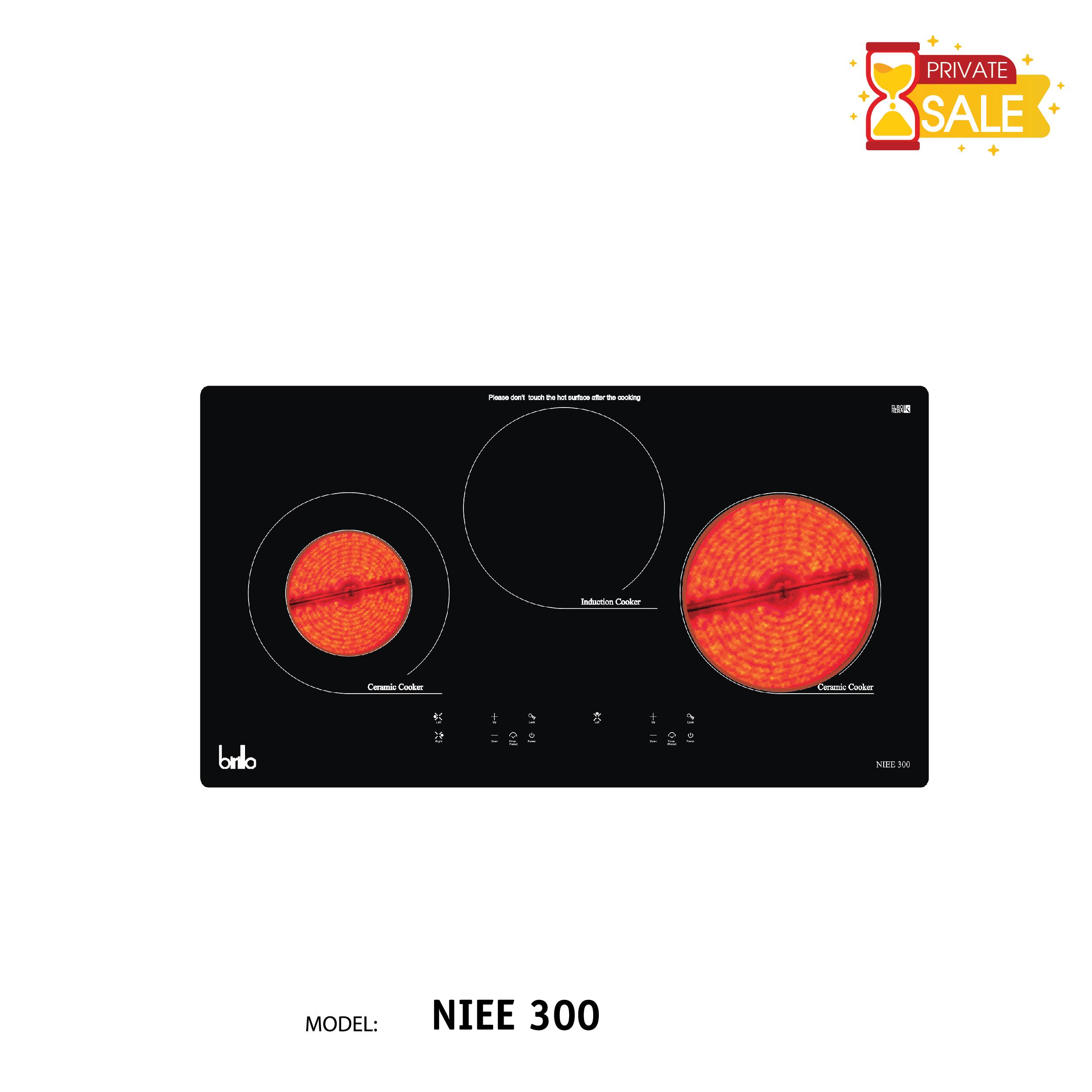 Bếp điện Birillo - Model NIEE300