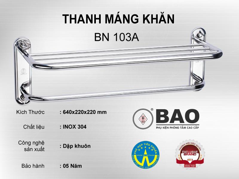 THANH MÁNG KHĂN MODEL BN 103A