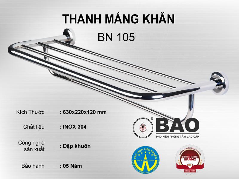 THANH MÁNG KHĂN MODEL BN 105