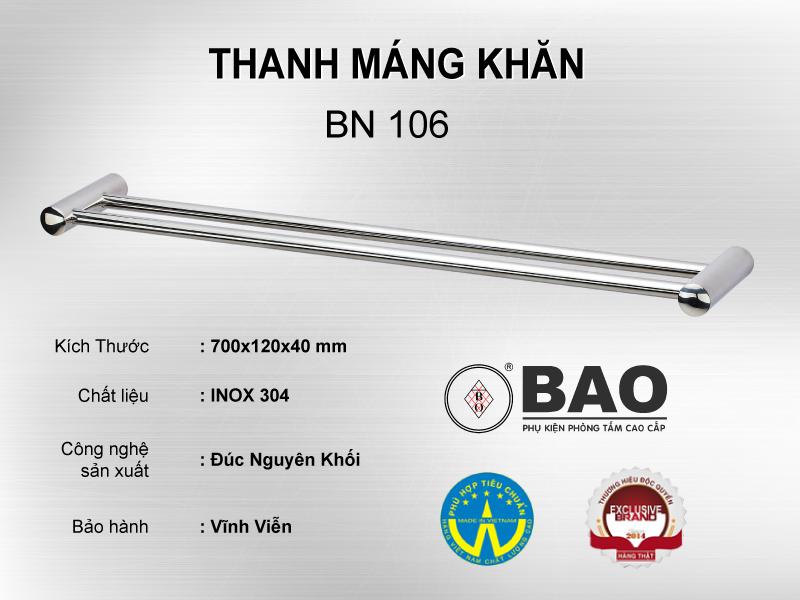 THANH MÁNG KHĂN MODEL BN 106