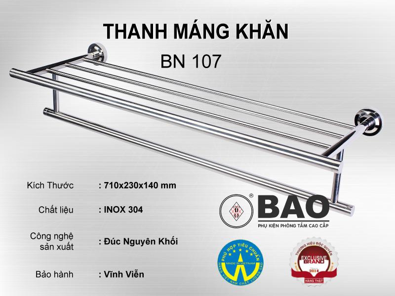 THANH MÁNG KHĂN MODEL BN 107