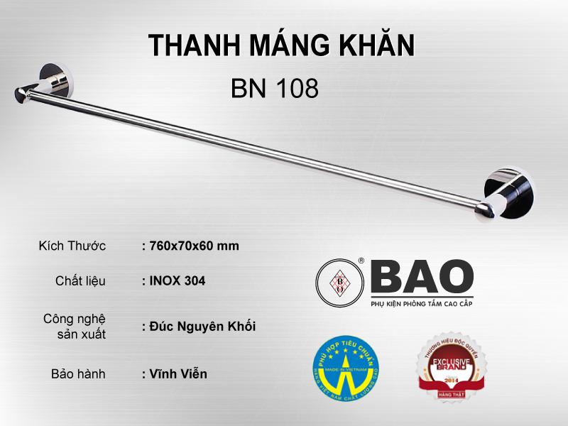 THANH MÁNG KHĂN MODEL BN 108