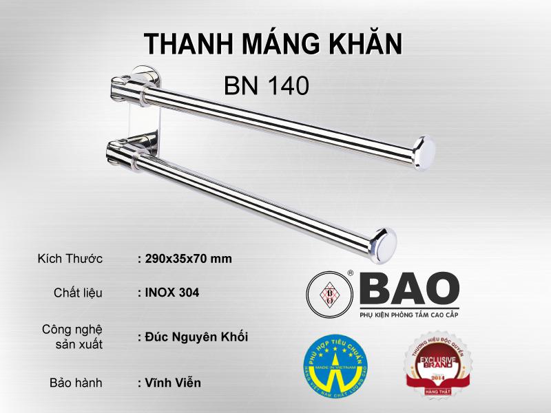 THANH MÁNG KHĂN MODEL BN 140