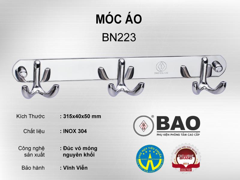 MÓC ÁO MODEL BN223