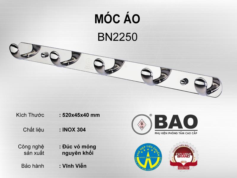 MÓC ÁO MODEL BN2250