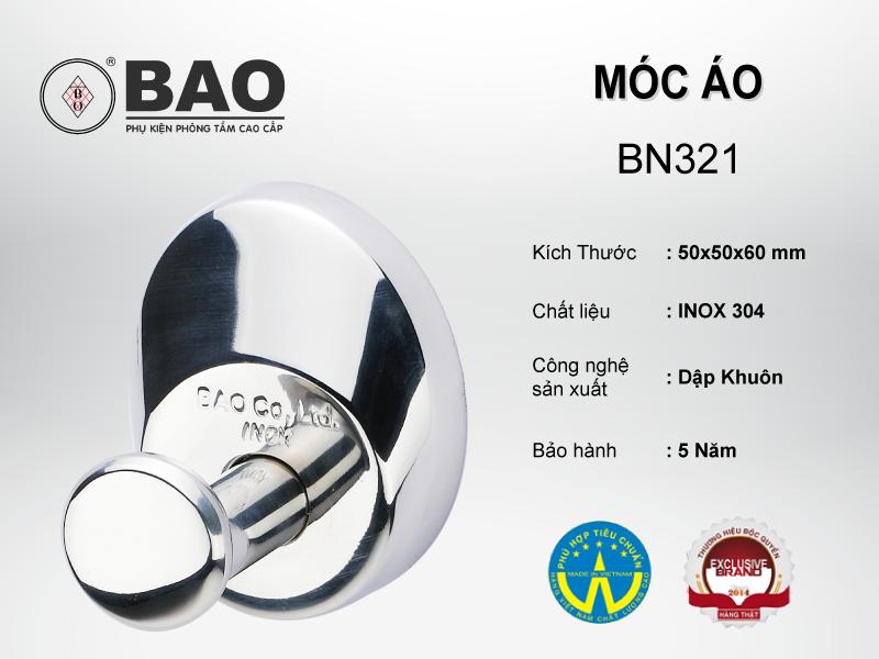 MÓC ÁO MODEL BN321