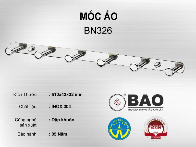 MÓC ÁO MODEL BN326