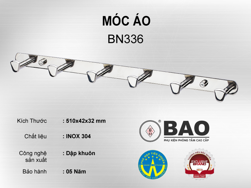 MÓC ÁO MODEL BN336