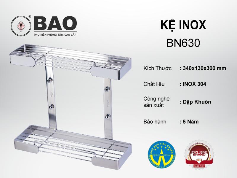KỆ INOX MODEL BN630