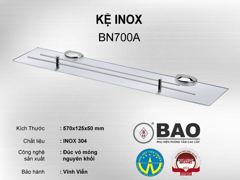 KỆ INOX MODEL BN700A
