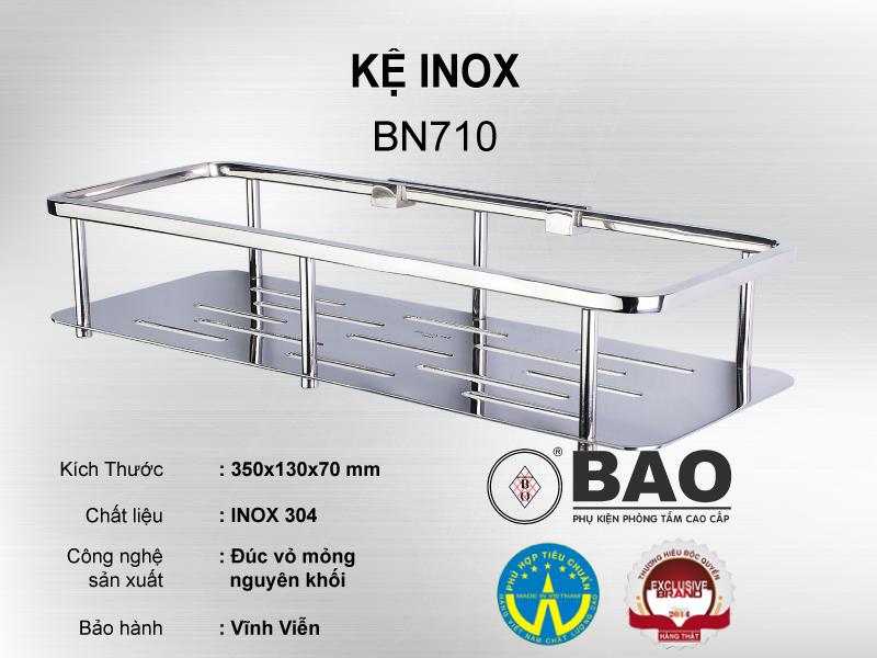KỆ INOX MODEL BN710
