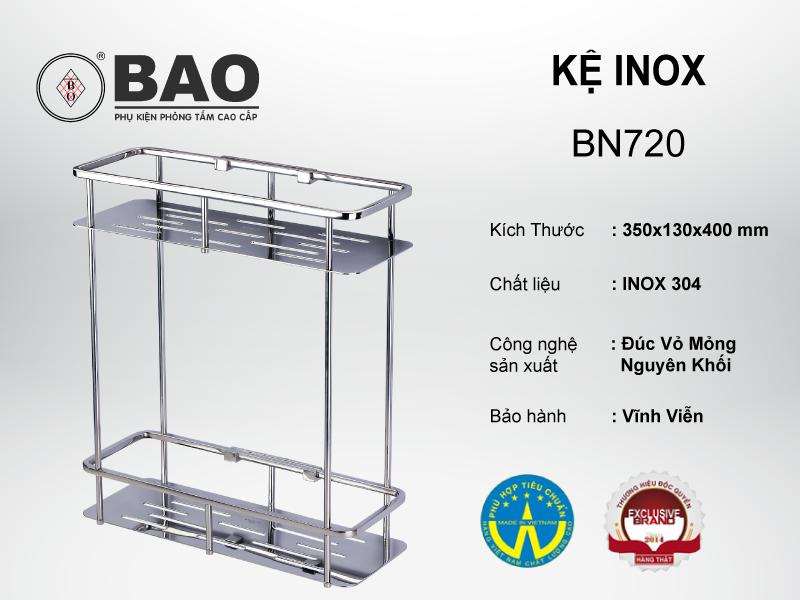 KỆ INOX MODEL BN720