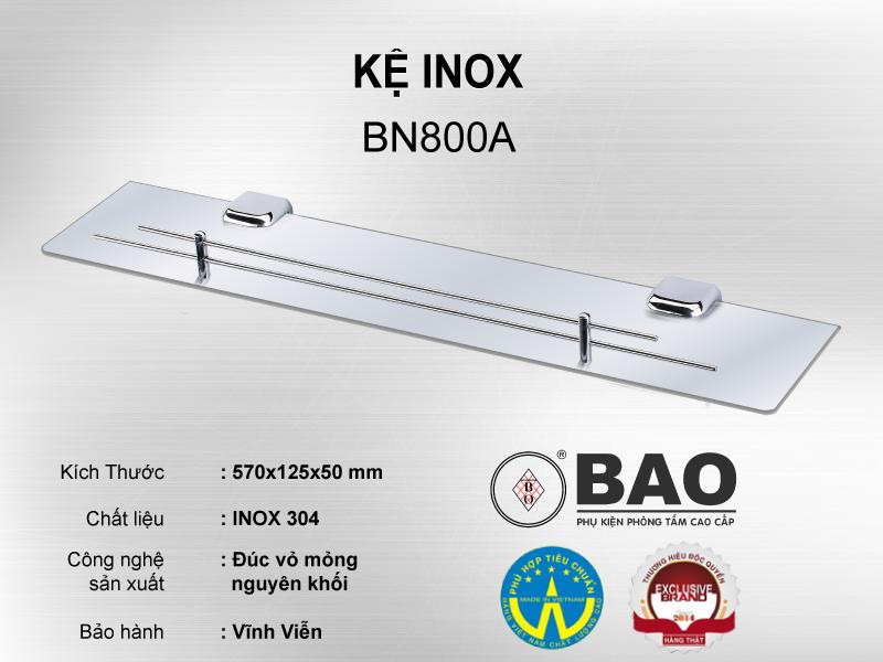 KỆ INOX MODEL BN800A