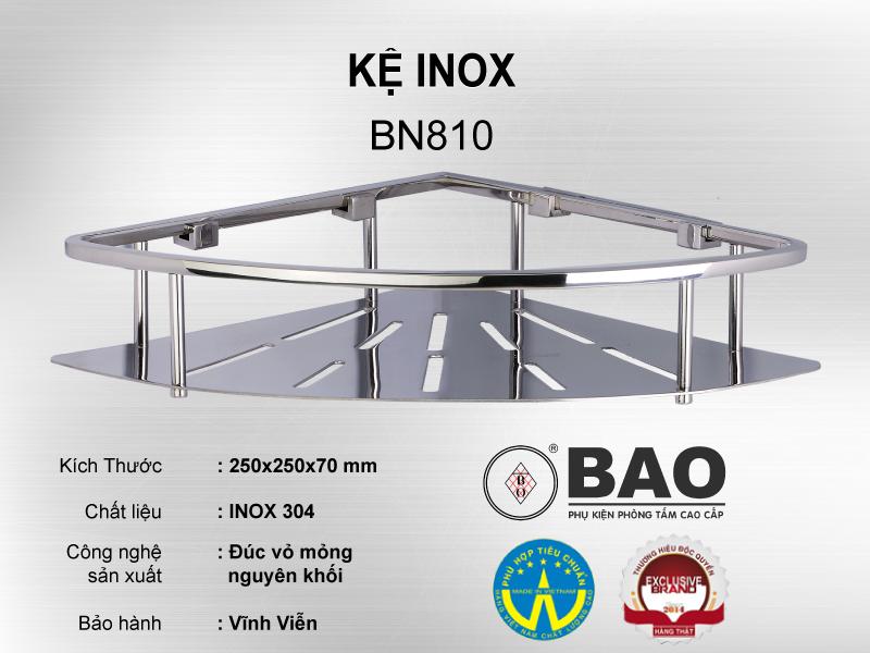 KỆ INOX MODEL BN810