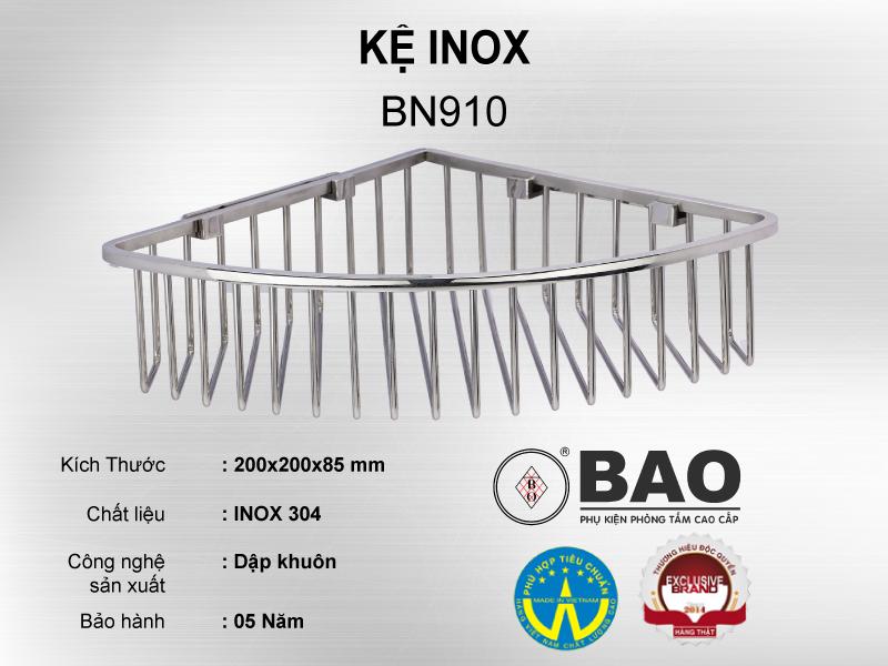 KỆ INOX MODEL BN910