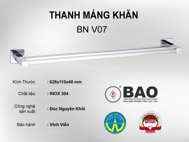 THANH MÁNG KHĂN MODEL BN V07