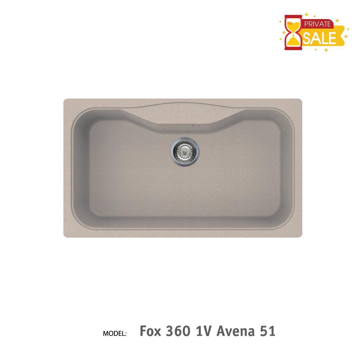 Chậu đá Elleci - Model Fox 3601V Avena51