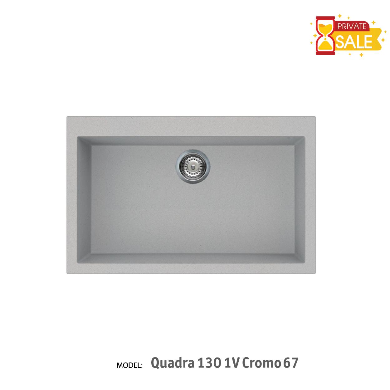 Chậu đá Elleci - Model Quadra 1301V Cromo67