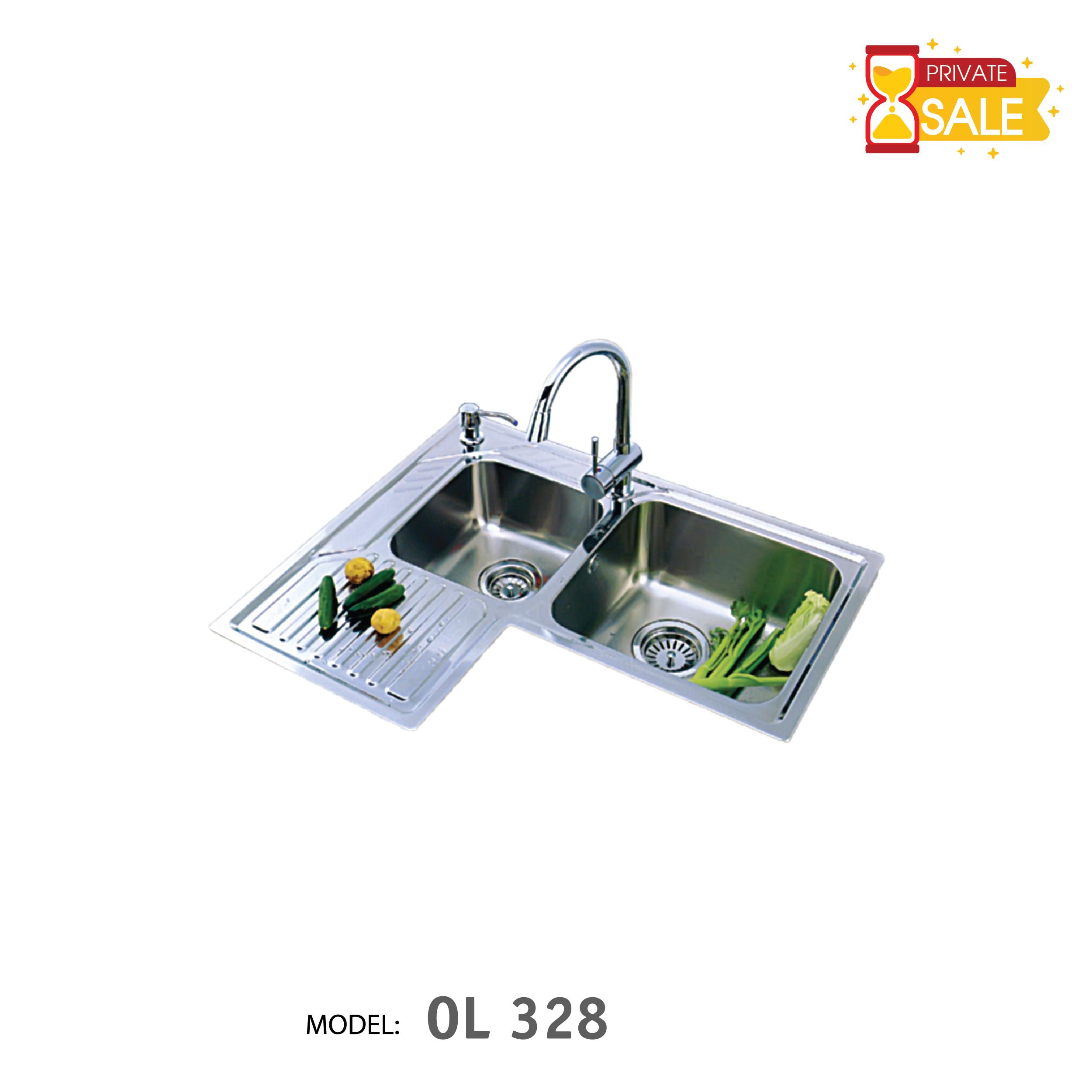 Chậu rửa Inox BIRILLO Model OL 328