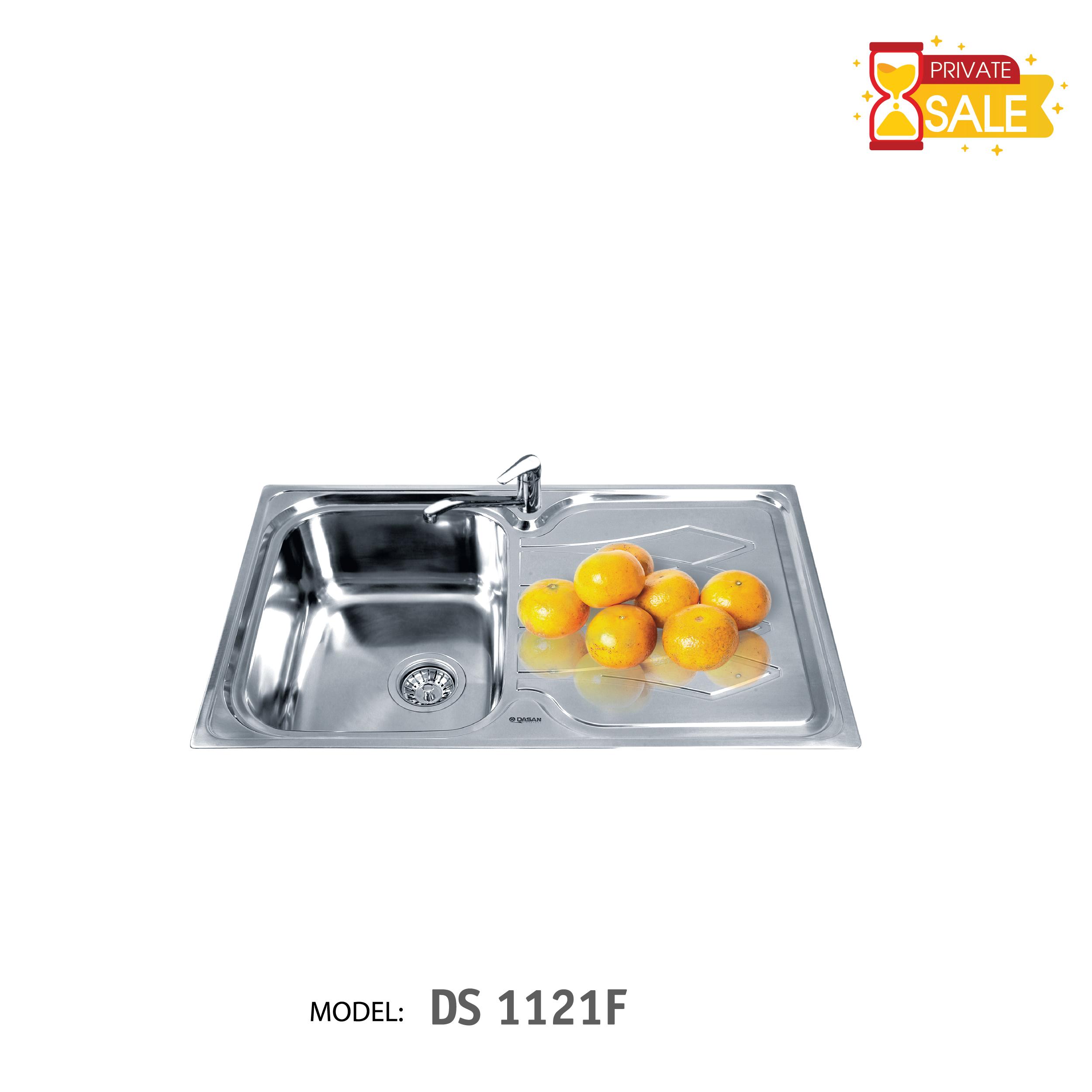 Chậu rửa Inox DASAN Model DS 1121 F