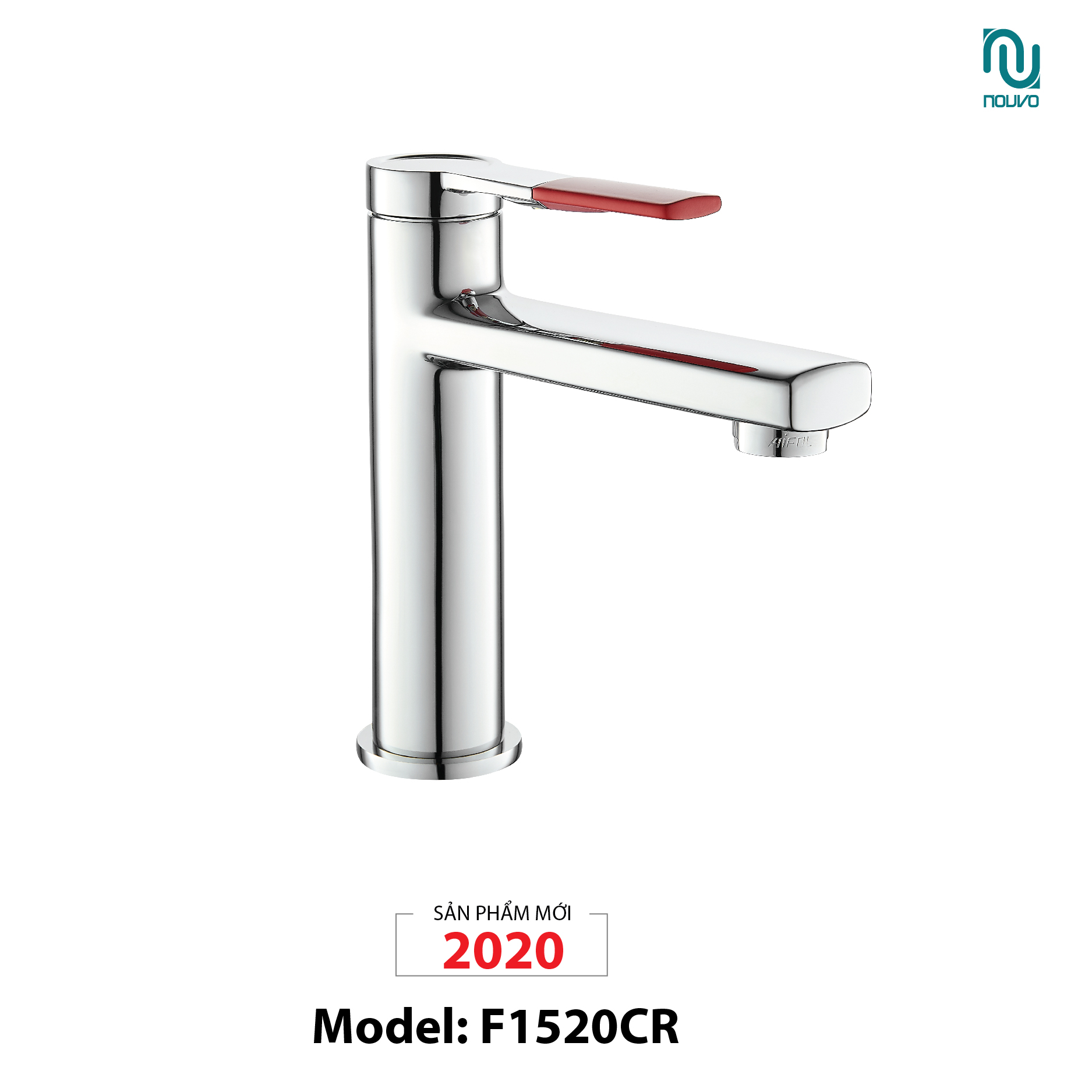 VÒI LAVABO NOUVO MODEL F1520CR (VÒI LAVABO MODEL F1520CR)