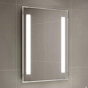 Gương đèn led hai sọc hai ánh sáng - MODEL 03B02