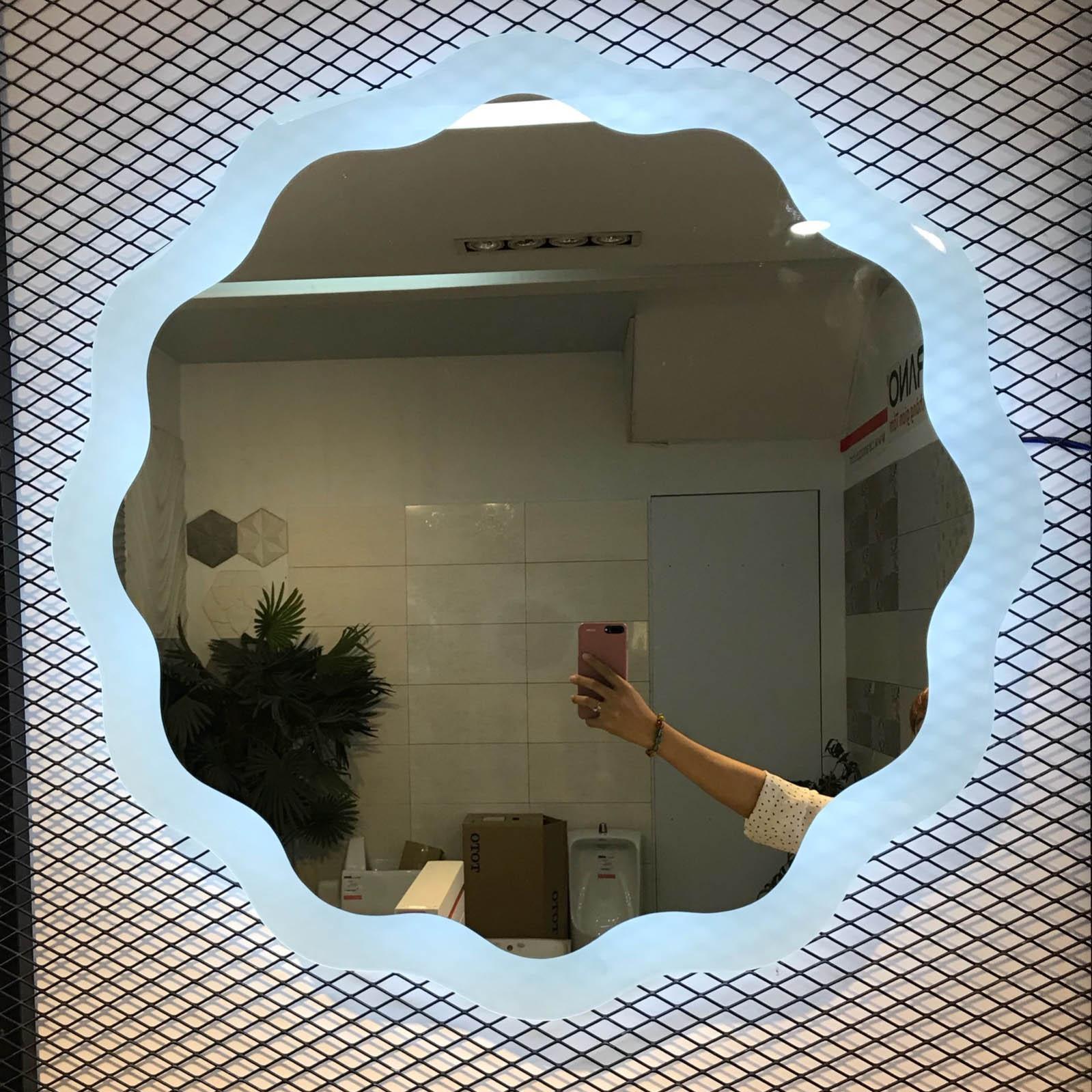 Gương đèn led phun cát - MODEL 20017