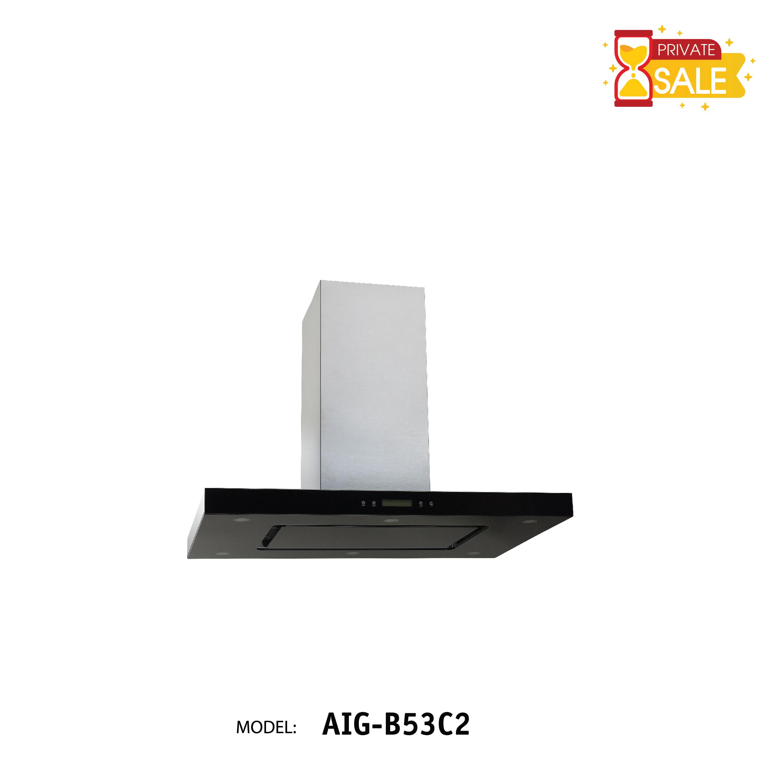 Máy hút mùi áp tường Birillo - Model AIGB53C2