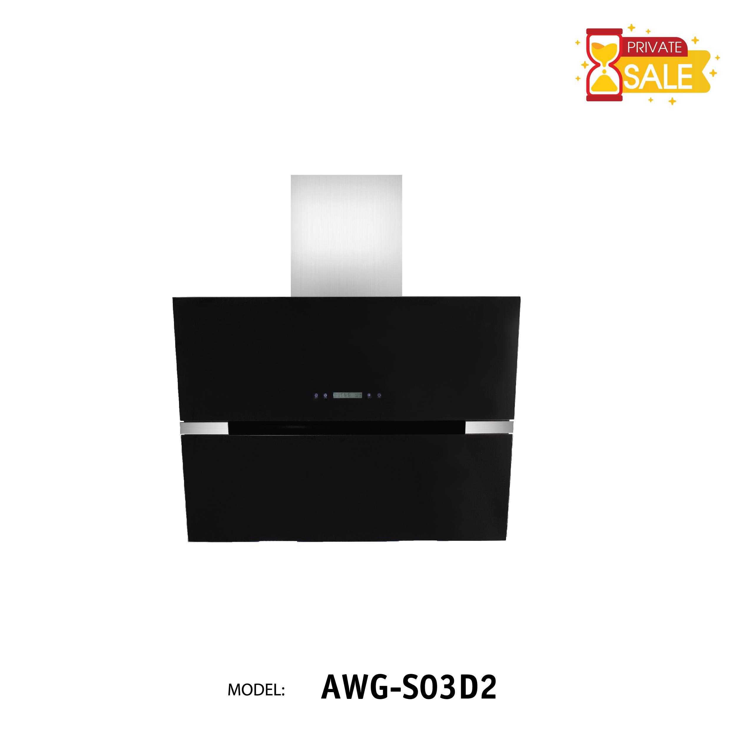 Máy hút mùi áp tường Birillo - Model AWGS03D2