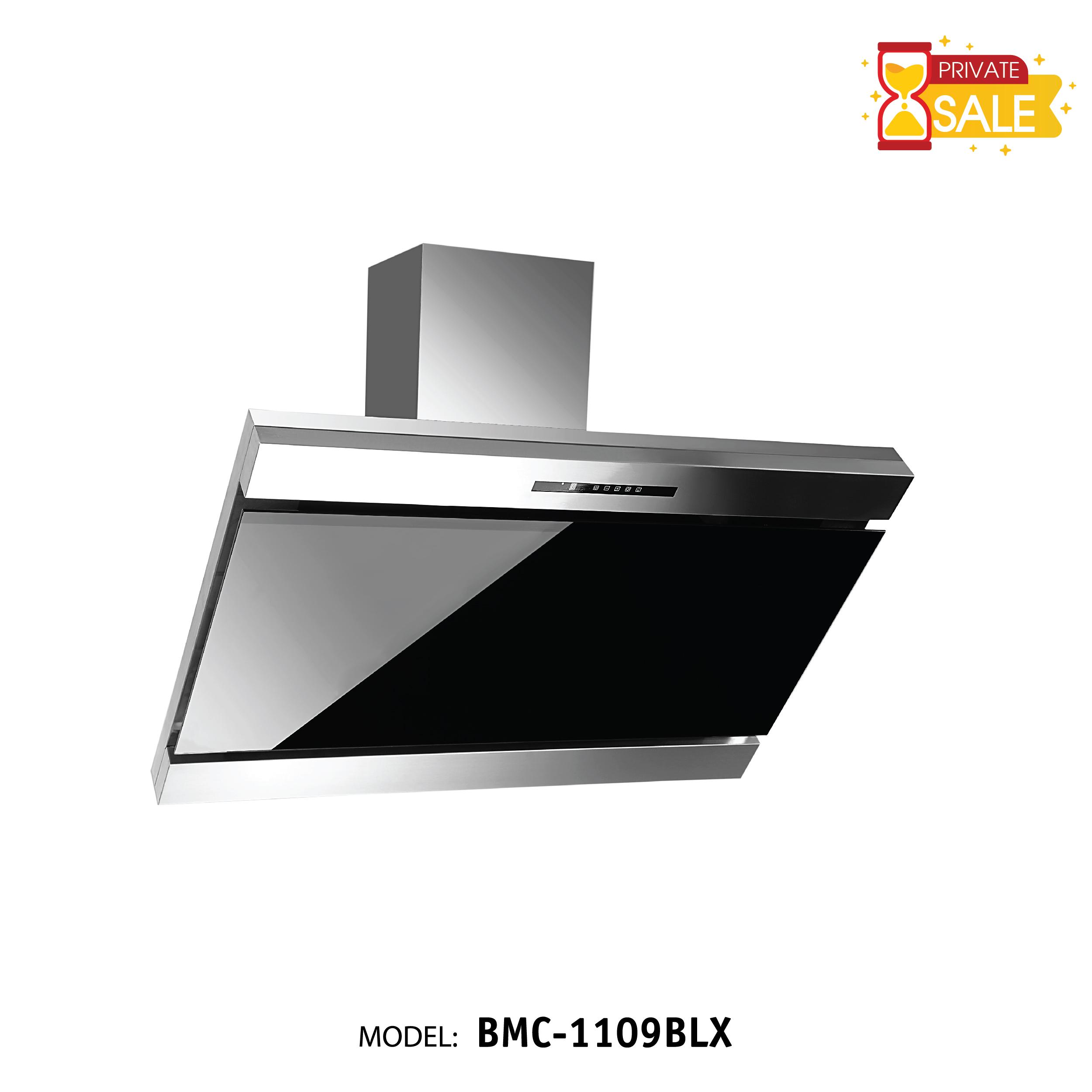 Máy hút mùi áp tường Birillo - Model BMC1109BLX