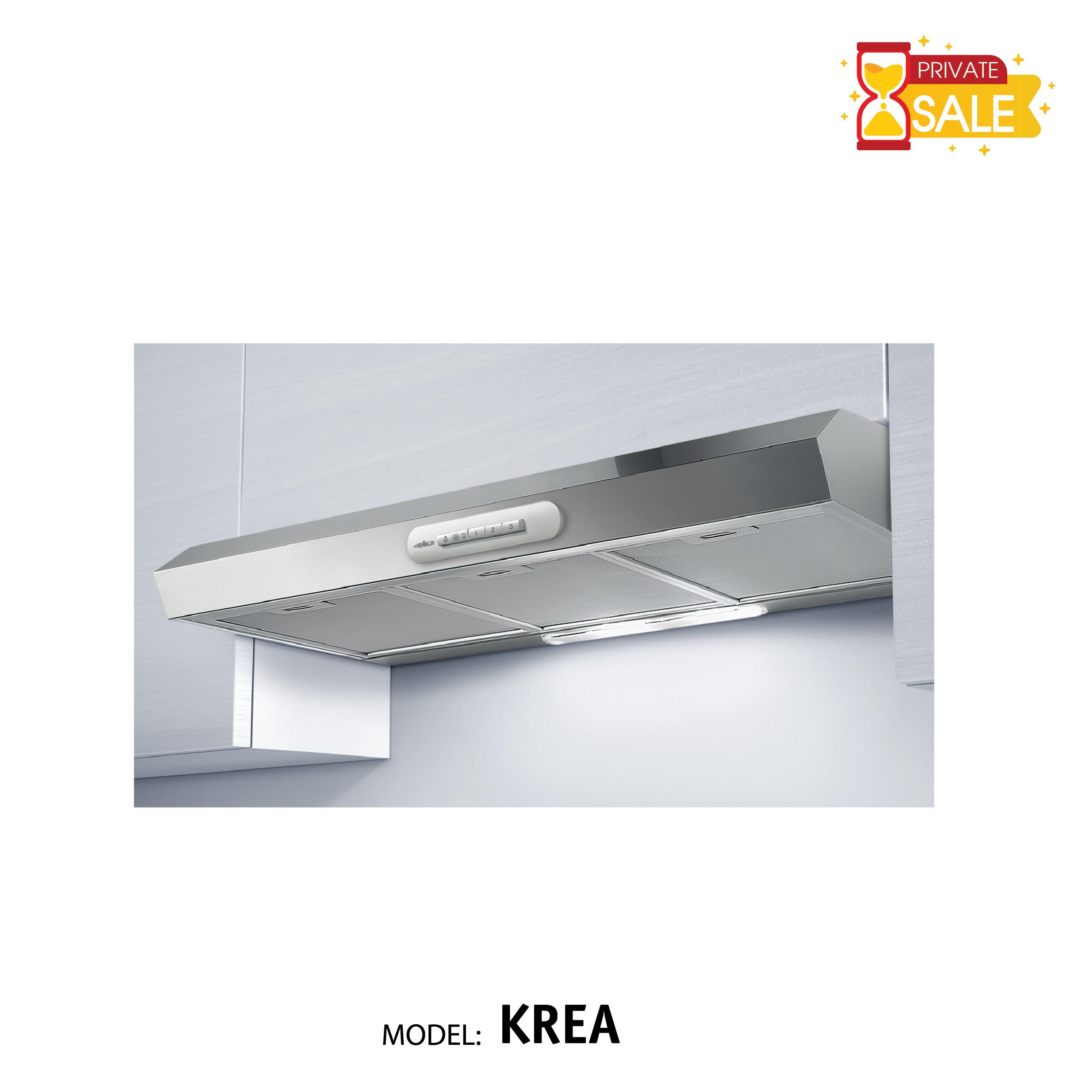 Máy hút mùi áp kệ Elica - Model KREA